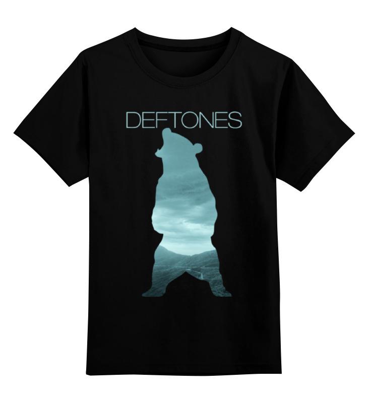 Детская футболка классическая унисекс Printio Deftones медведь deftones deftones deftones