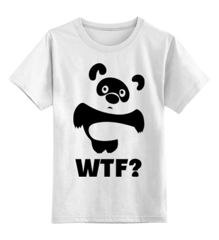 Детская футболка классическая унисекс Printio Винни wtf? детская футболка классическая унисекс printio винни пух
