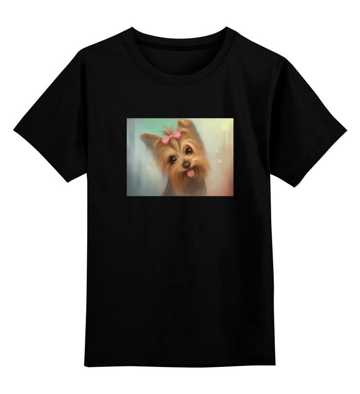 Детская футболка классическая унисекс Printio Йоркширский терьер детская футболка классическая унисекс printio йоркширский терьер