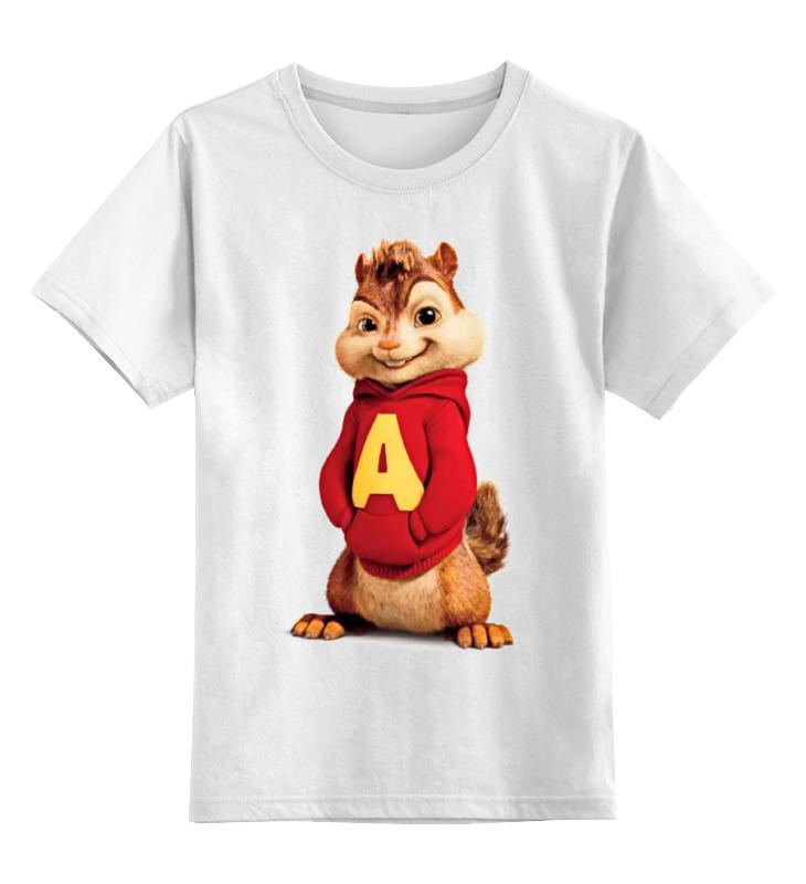 все цены на Детская футболка классическая унисекс Printio Элвин и бурундуки