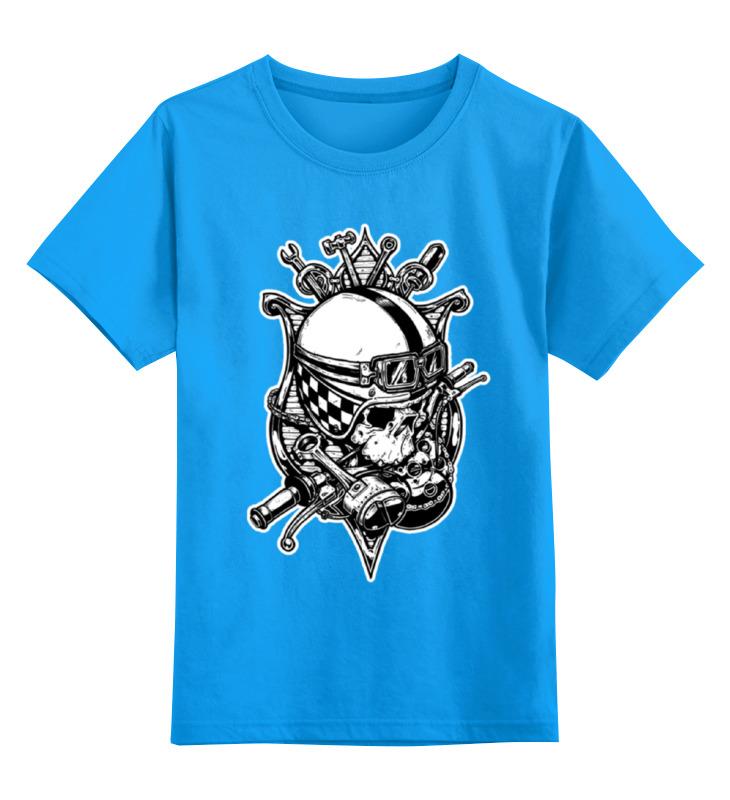 Детская футболка классическая унисекс Printio Old school custom детская футболка классическая унисекс printio anchor old school