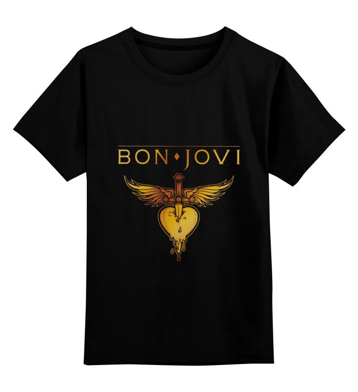 Детская футболка классическая унисекс Printio Bon jovi bon jovi in their own words
