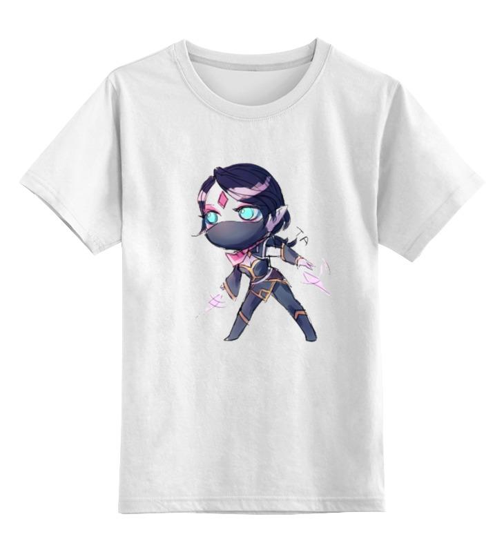 Детская футболка классическая унисекс Printio Dota 2 templar assassin miy футболка рингер printio dota 2 templar assassin miy