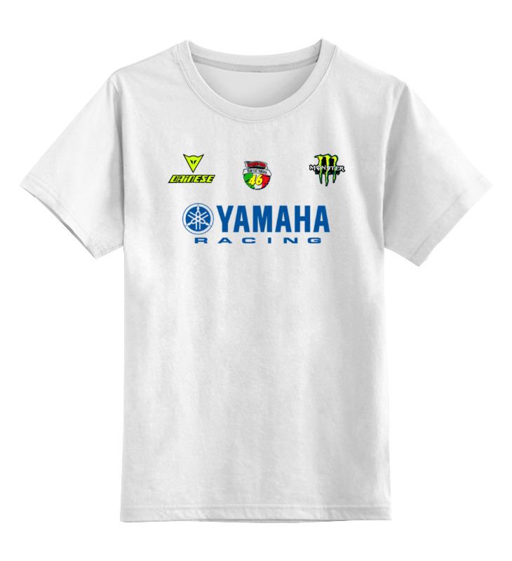 Детская футболка классическая унисекс Printio Yamaha racing