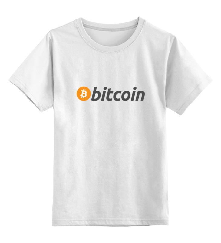 Детская футболка классическая унисекс Printio Bitcoin bitcoin commemorative coin 1pc