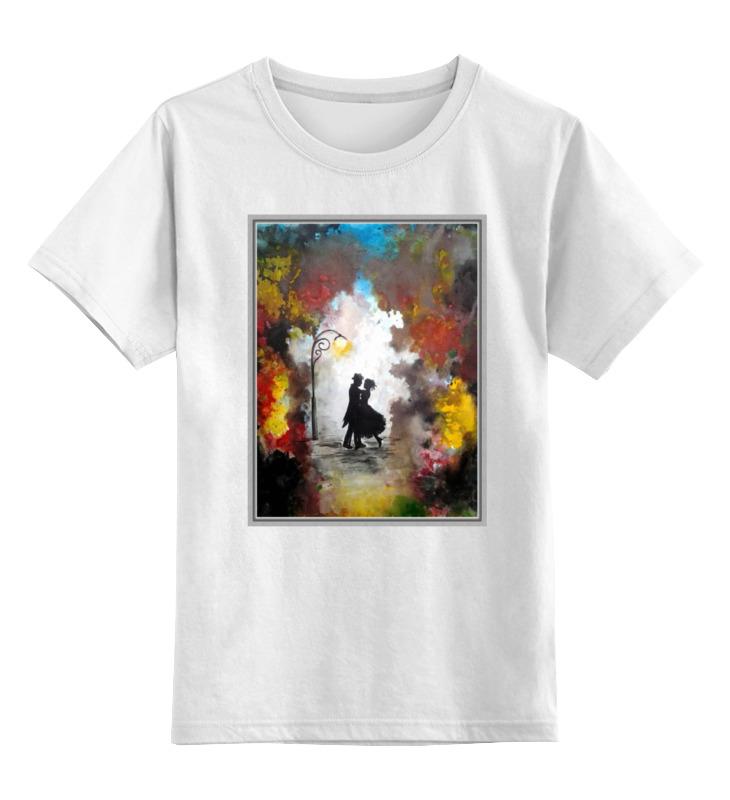 Детская футболка классическая унисекс Printio Танец в парке блокнот printio осень в парке