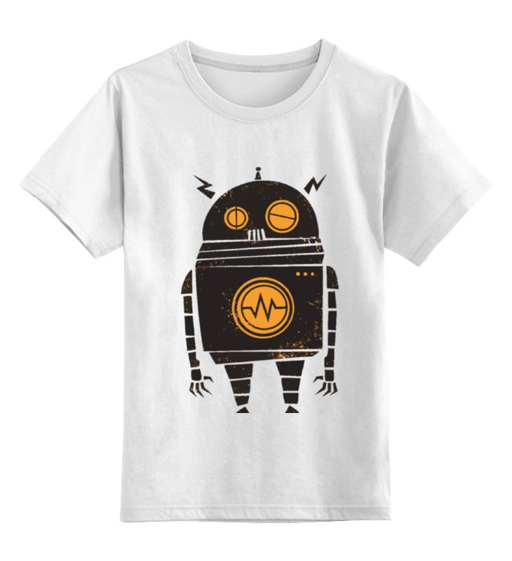 Фото - Детская футболка классическая унисекс Printio Robot / робот детская футболка классическая унисекс printio sad robot