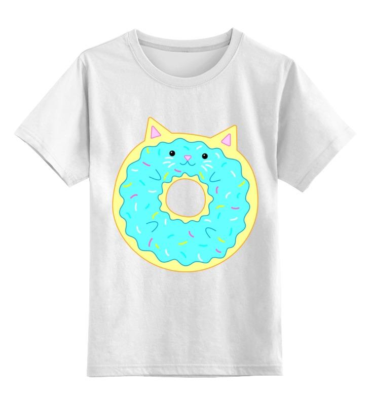 Детская футболка классическая унисекс Printio Кисончик детская футболка классическая унисекс printio кот и пончик