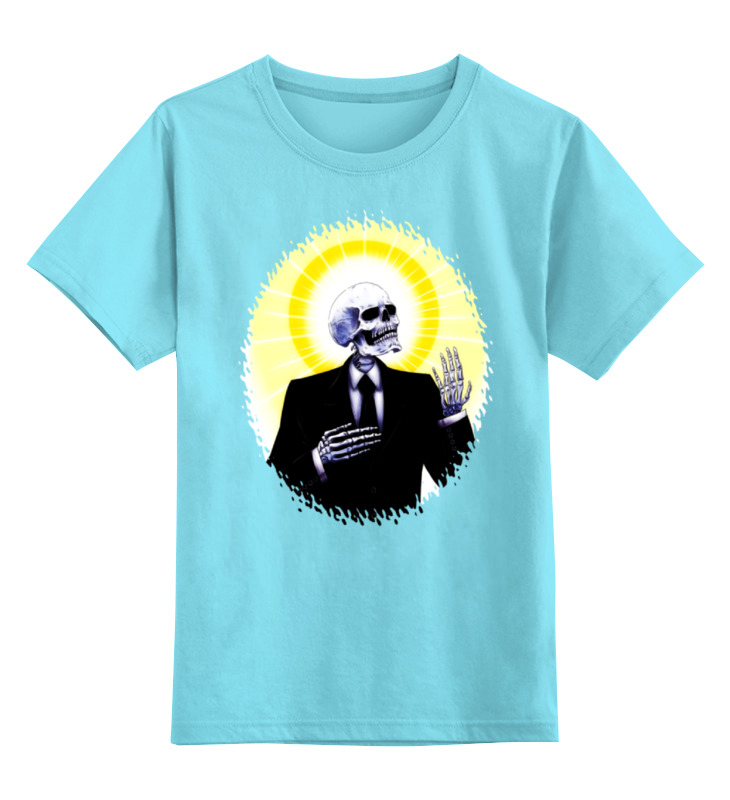 Детская футболка классическая унисекс Printio Holy skeleton футболка классическая printio holy skeleton