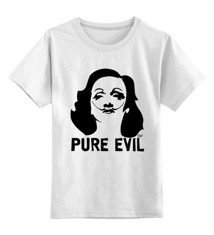 Детская футболка классическая унисекс Printio Pure evil футболка evil dead