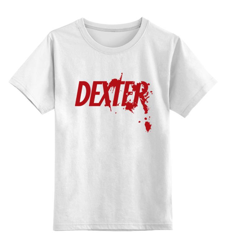 Детская футболка классическая унисекс Printio Dexter (декстер) детская футболка классическая унисекс printio демон