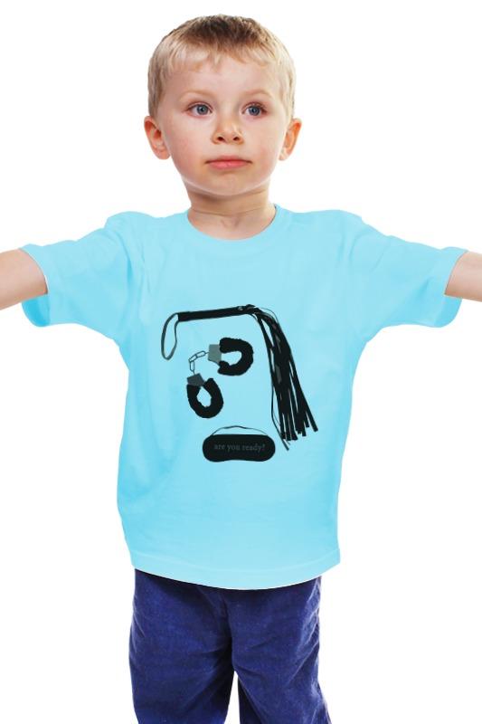 Детская футболка классическая унисекс Printio 50 оттенков серого (fifty shades of grey) fifty shades darker