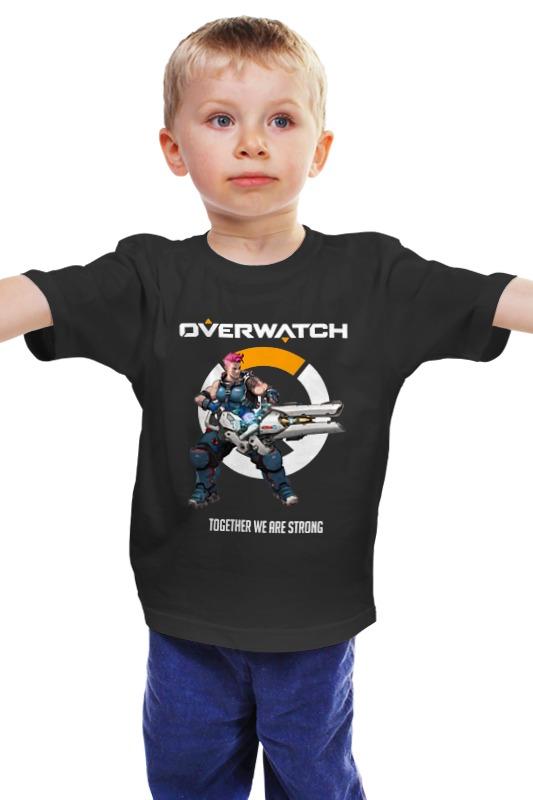 Детская футболка классическая унисекс Printio Overwatch. заря детская футболка классическая унисекс printio заря