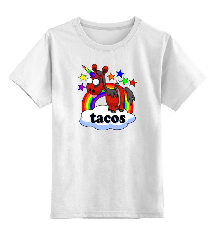 Детская футболка классическая унисекс Printio Единорог дэдпул