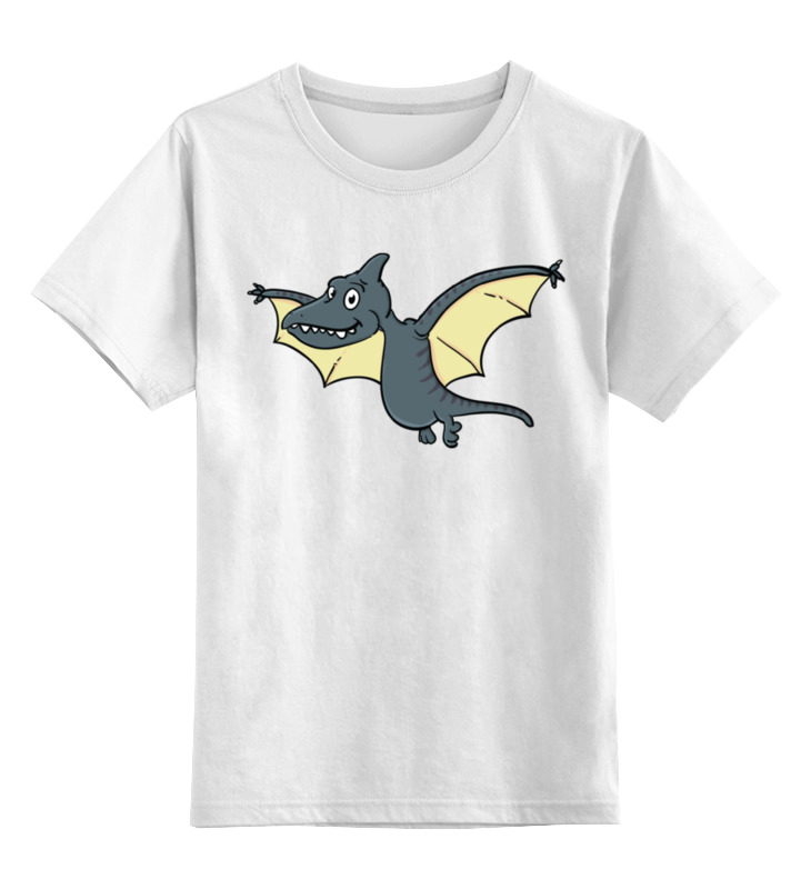 Детская футболка классическая унисекс Printio Птерозаврик
