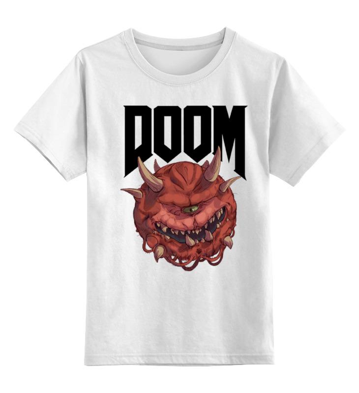 Детская футболка классическая унисекс Printio Doom game футболка классическая printio doom game