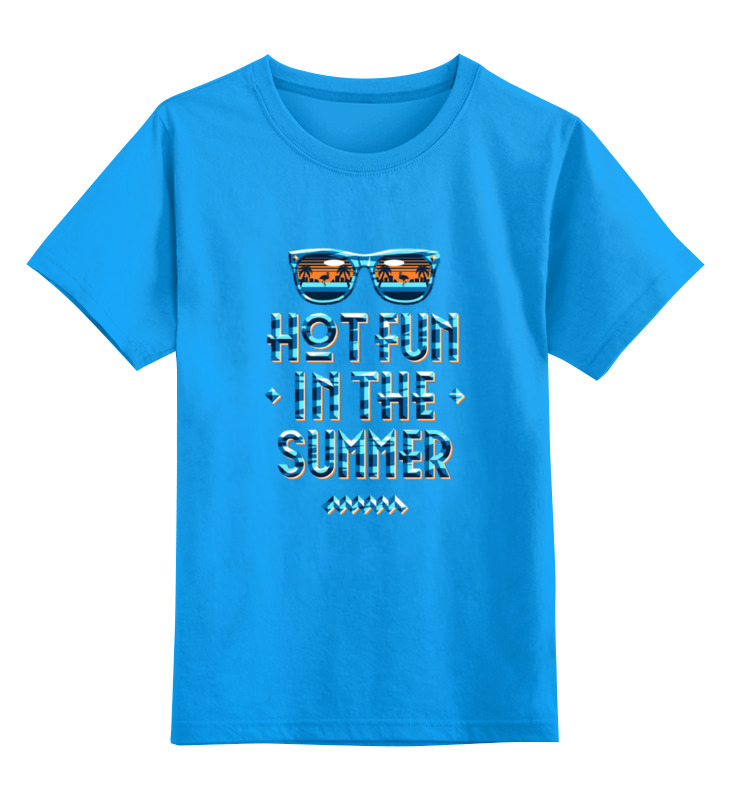 Printio Summer детская футболка классическая унисекс printio love summer