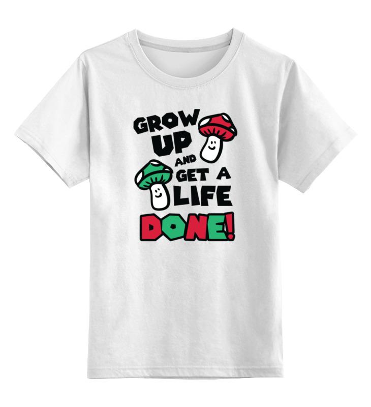 Детская футболка классическая унисекс Printio Грибочки из марио цена и фото