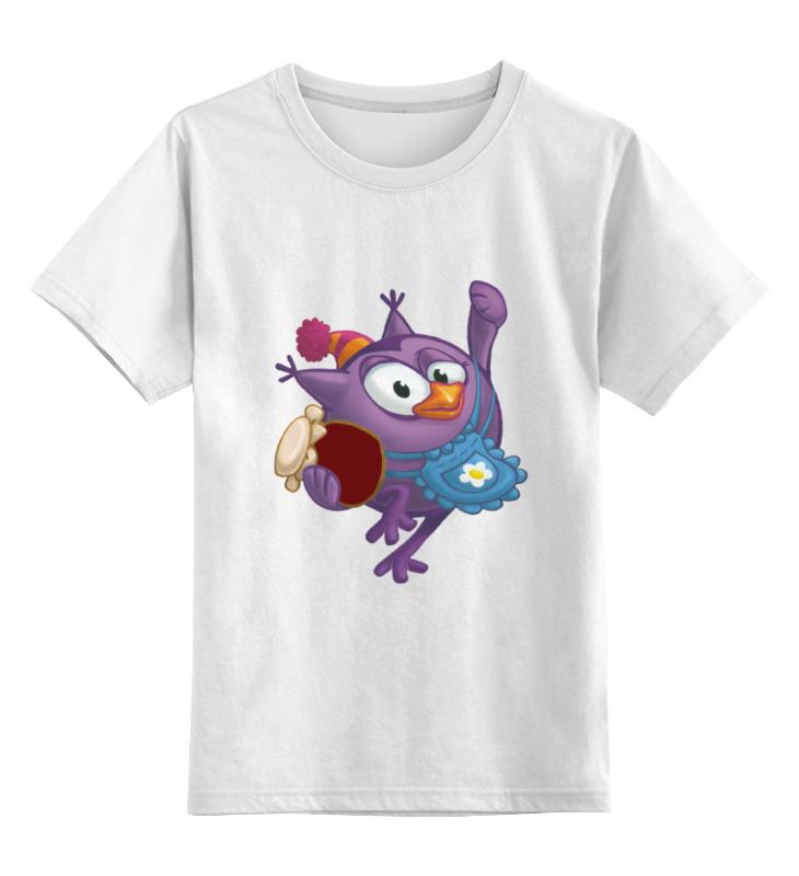 Детская футболка классическая унисекс Printio Смешарики ольхов о сладости на вашем столе кексы варенья пастилы