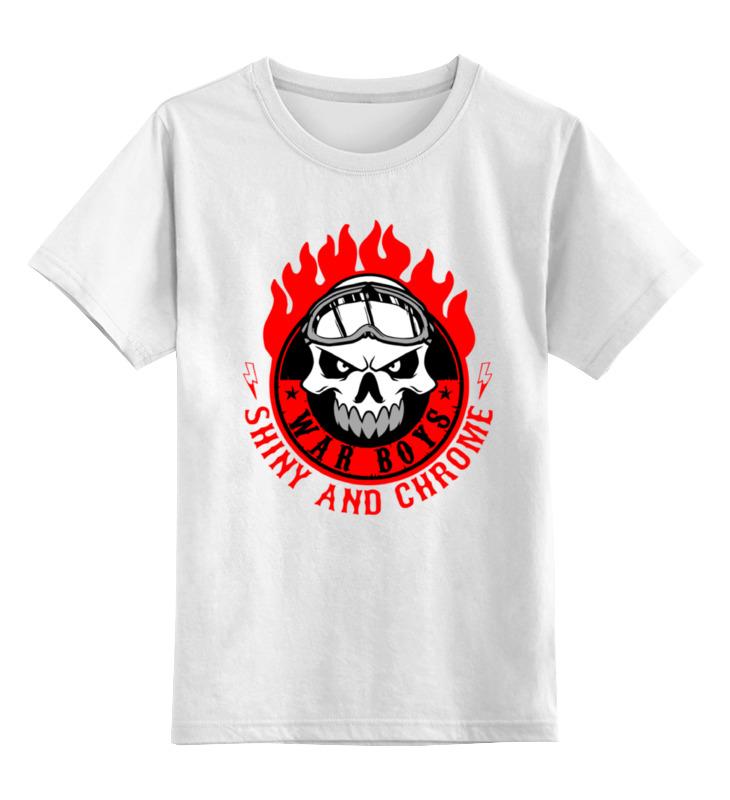 Детская футболка классическая унисекс Printio War boys (mad max) футболка классическая printio war boys mad max