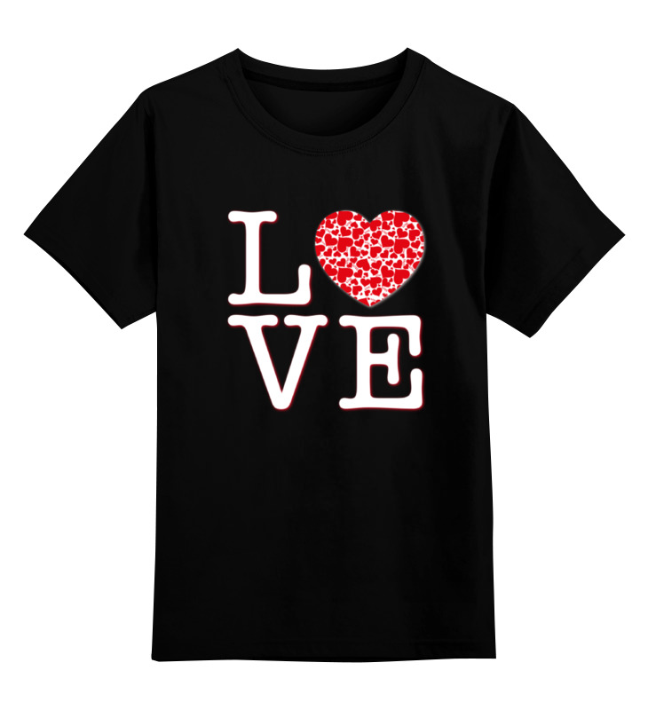 Детская футболка классическая унисекс Printio Футболка любовь детская футболка классическая унисекс printio слоник