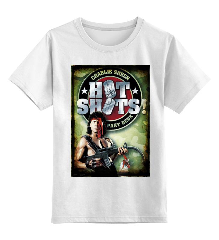 Детская футболка классическая унисекс Printio Горячие головы 2 футболка классическая printio 62 2% в саратове