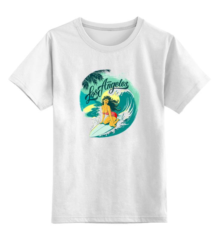 Детская футболка классическая унисекс Printio Лос-анжелес футболка wearcraft premium printio лос анжелес