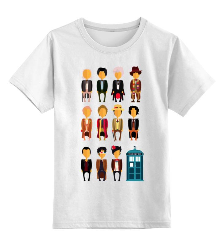 Детская футболка классическая унисекс Printio Доктор кто (doctor who) футболка рингер printio доктор кто doctor who