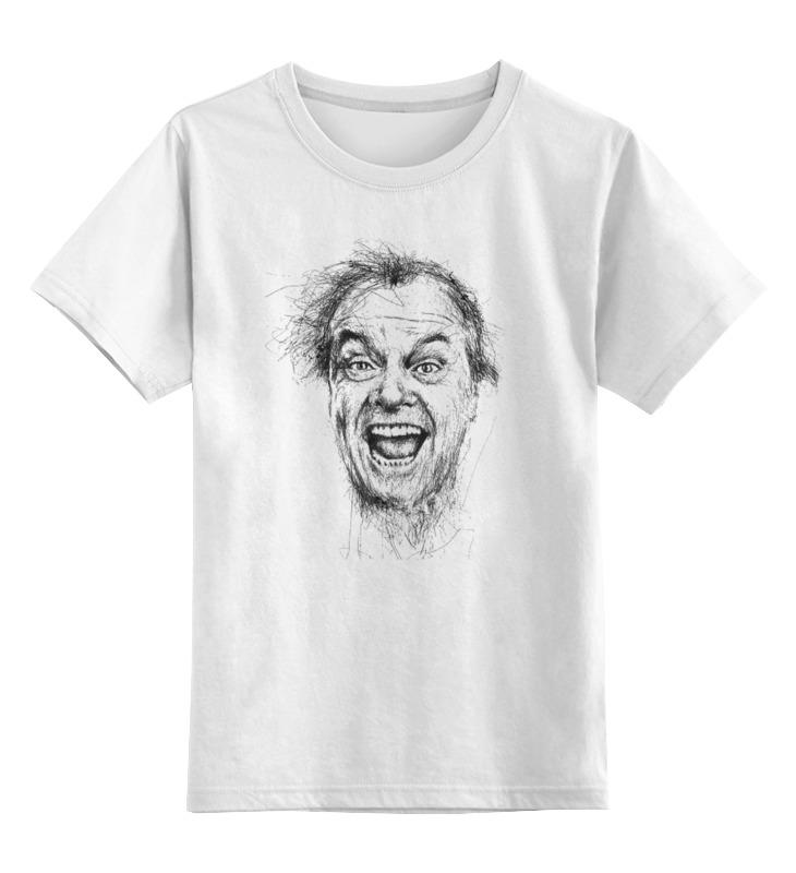 Детская футболка классическая унисекс Printio Джек николсон футболка классическая printio светильник джек