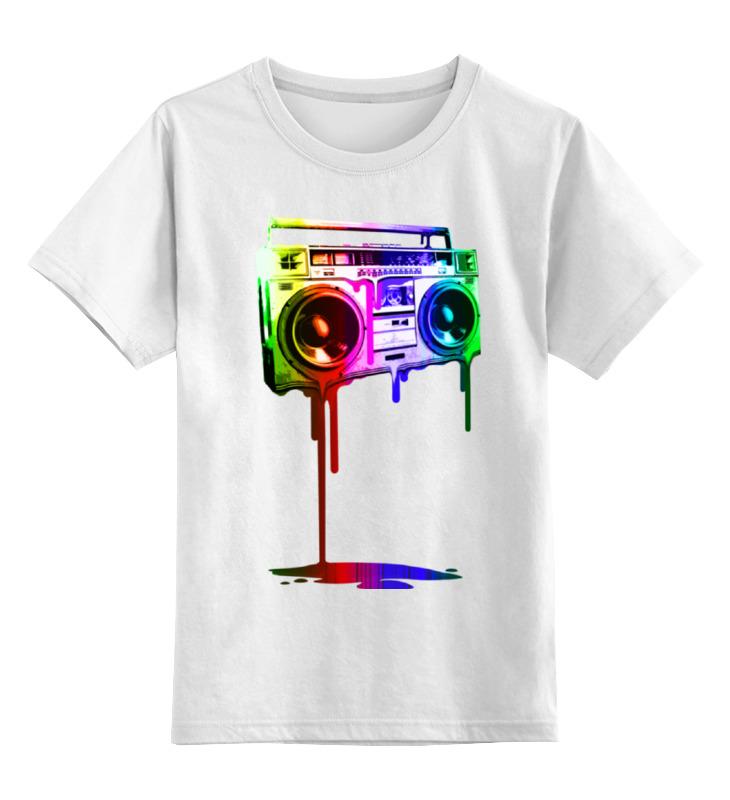 Детская футболка классическая унисекс Printio Магнитофон сумка printio магнитофон