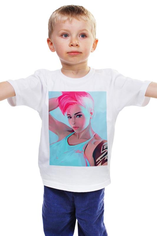 Детская футболка классическая унисекс Printio Заря детская футболка классическая унисекс printio заря