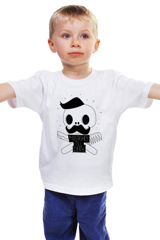 Детская футболка классическая унисекс Printio Mustahes death by shaurmaster детская футболка классическая унисекс printio death