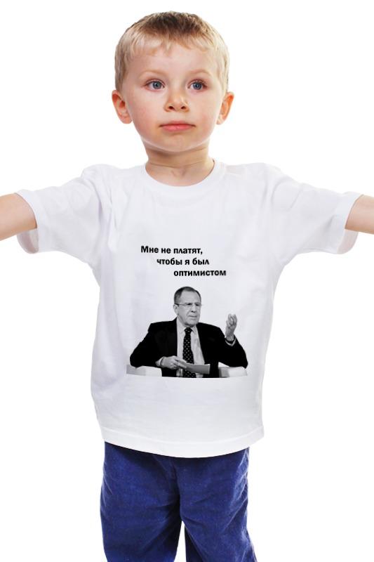цена на Детская футболка классическая унисекс Printio Лавров