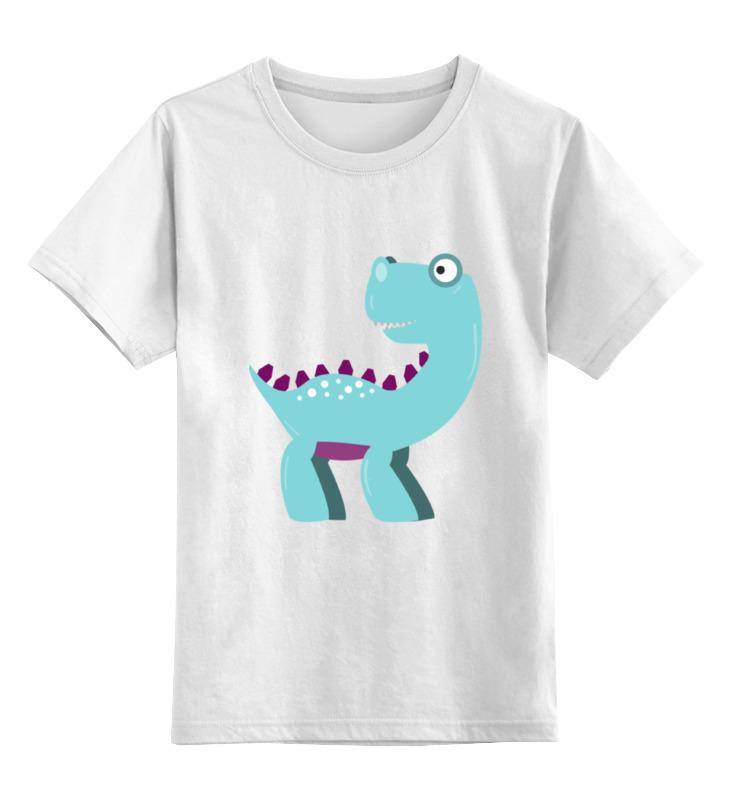 Детская футболка классическая унисекс Printio Динозавр стоимость