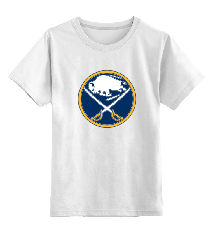Детская футболка классическая унисекс Printio Buffalo sabres / nhl usa лонгслив printio buffalo sabres nhl usa