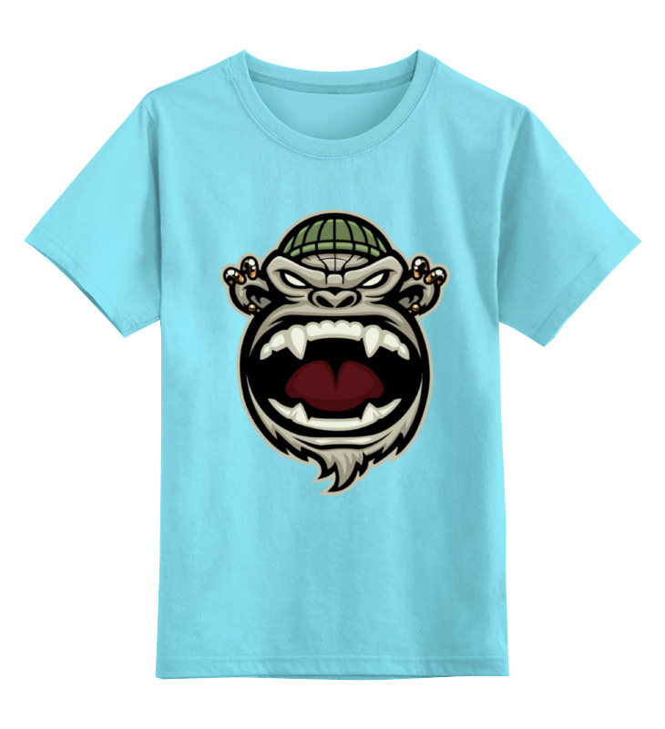 Детская футболка классическая унисекс Printio Обезьяна (monkey) детская футболка классическая унисекс printio monkey