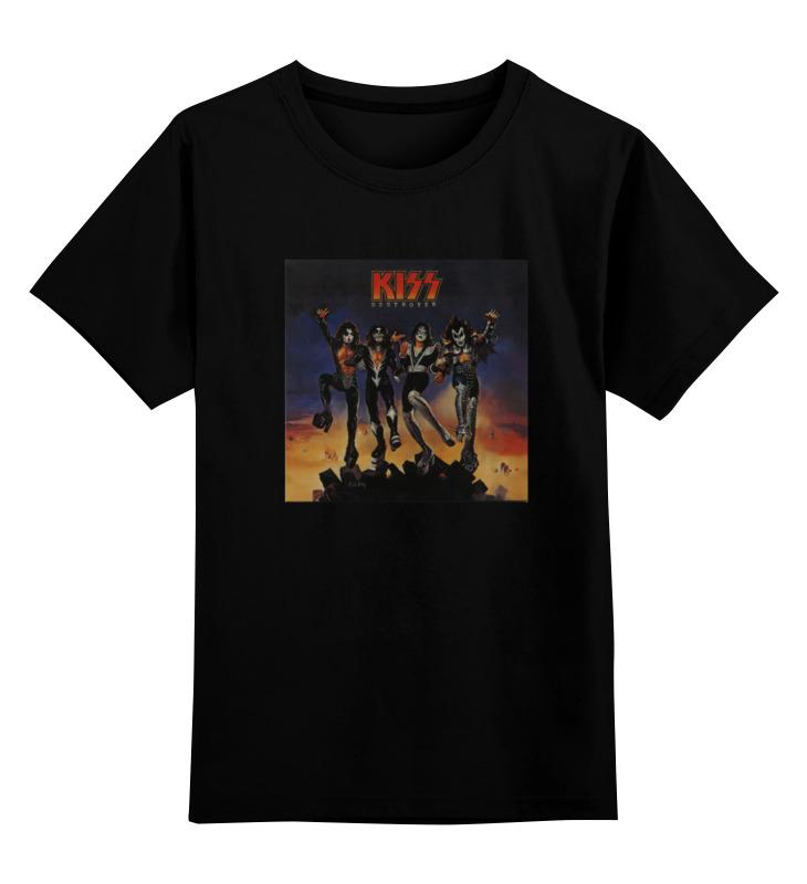 Детская футболка классическая унисекс Printio Kiss destroyer футболка wearcraft premium printio kiss destroyer
