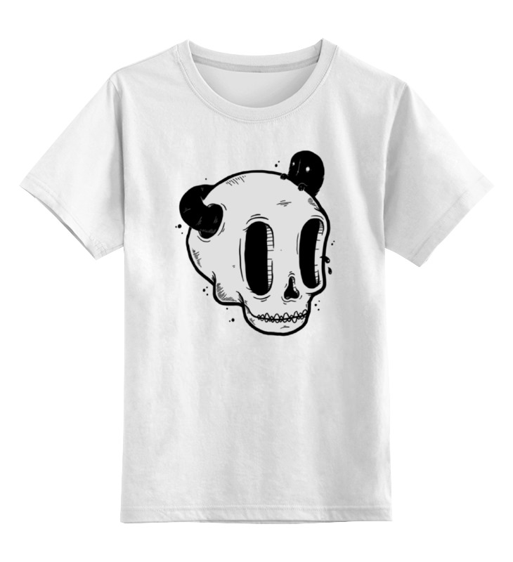 Детская футболка классическая унисекс Printio Skull art детская футболка классическая унисекс printio skull trooper
