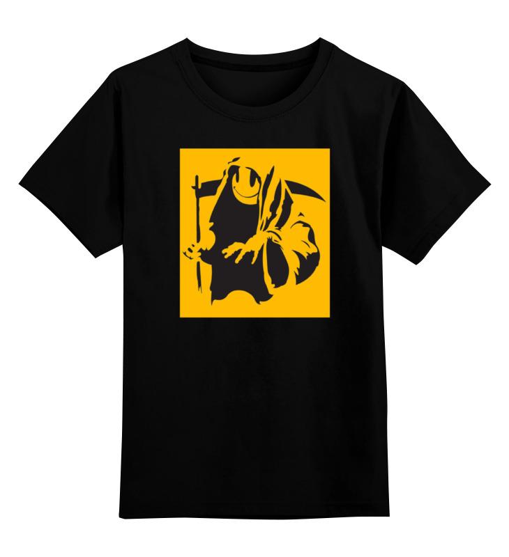 Детская футболка классическая унисекс Printio Жнец (reaper) grim reaper