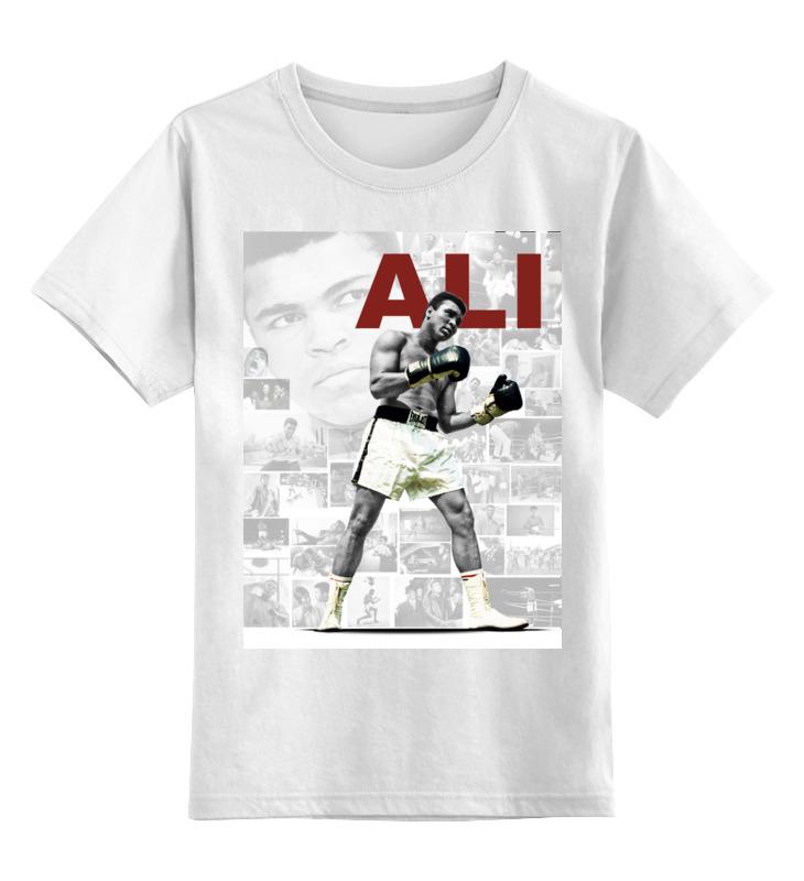 Детская футболка классическая унисекс Printio Мухаммад али цена 2017