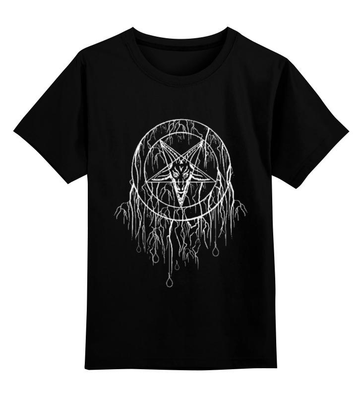Детская футболка классическая унисекс Printio Black metal metal mulisha футболка metal mulisha quartered black