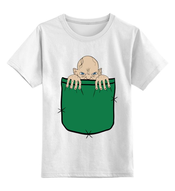 Детская футболка классическая унисекс Printio Голлум (властелин колец) майка классическая printio властелин колец