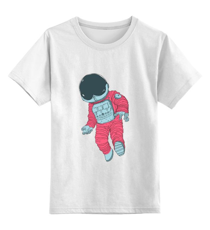 Детская футболка классическая унисекс Printio Космонавт цена и фото