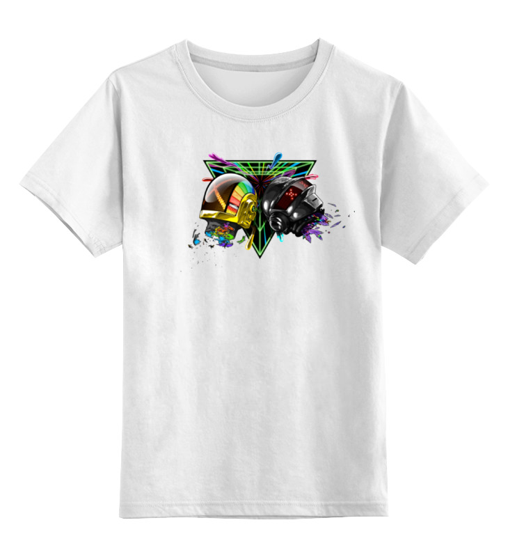 Детская футболка классическая унисекс Printio Daft punk детская футболка классическая унисекс printio punk girl