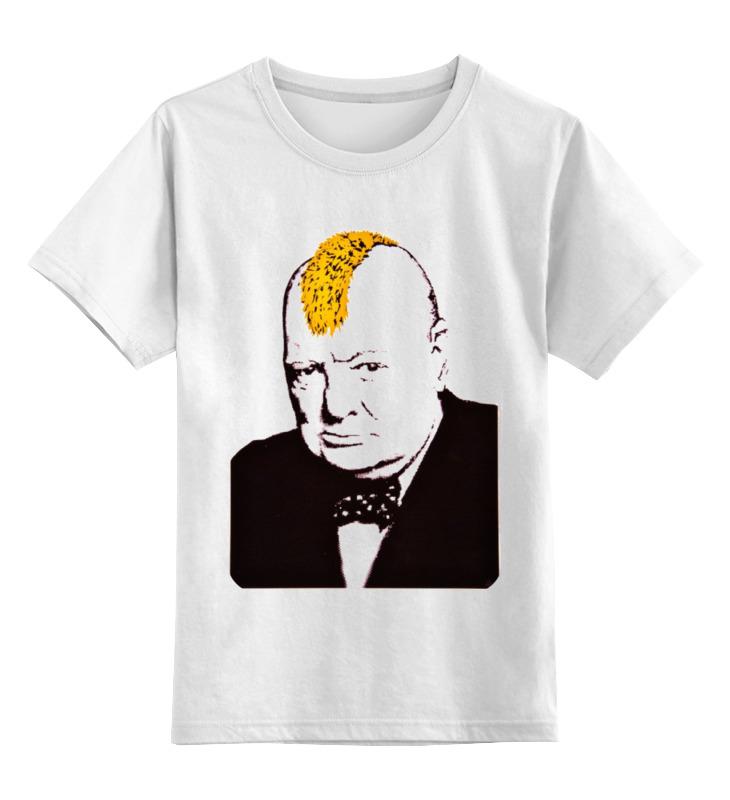 Детская футболка классическая унисекс Printio британец