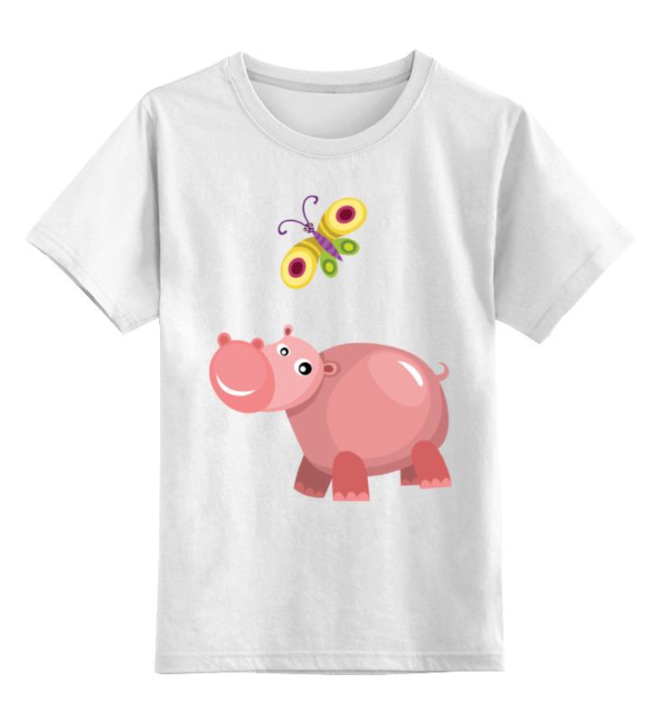 Детская футболка классическая унисекс Printio Бегемот детская футболка классическая унисекс printio бегемот