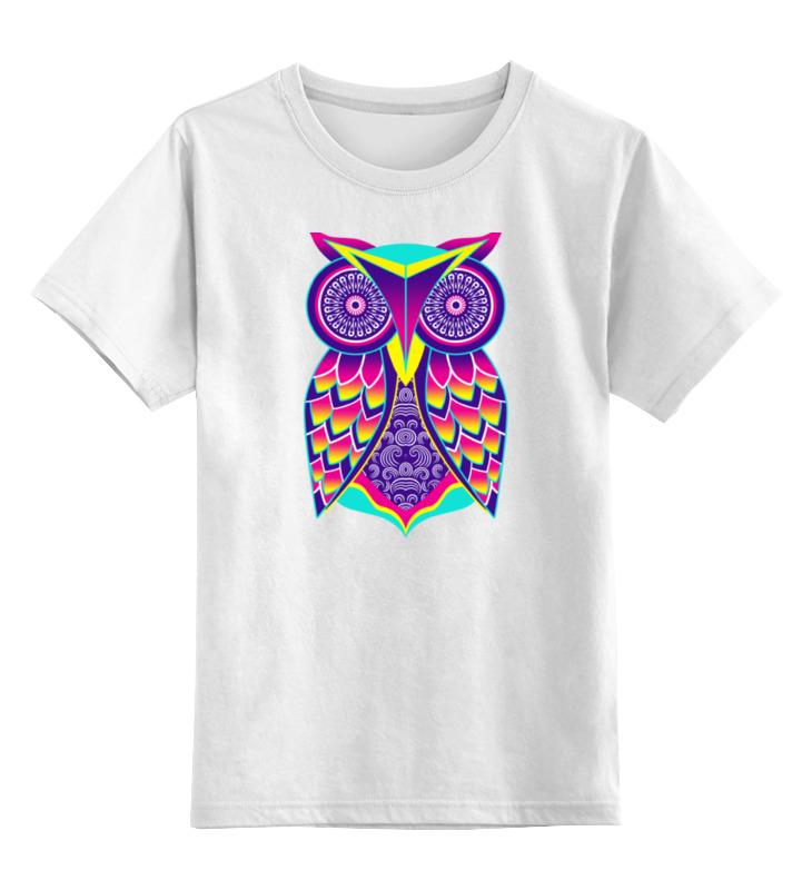 Детская футболка классическая унисекс Printio Сова арт детская футболка классическая унисекс printio арт сова