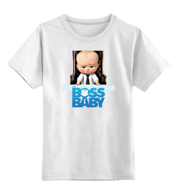 Детская футболка классическая унисекс Printio Босс-молокосос / the boss baby босс молокосос blu ray 3d