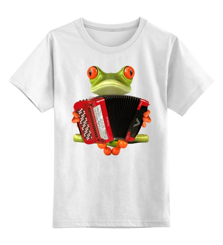 Детская футболка классическая унисекс Printio Баянист детская футболка классическая унисекс printio мачете