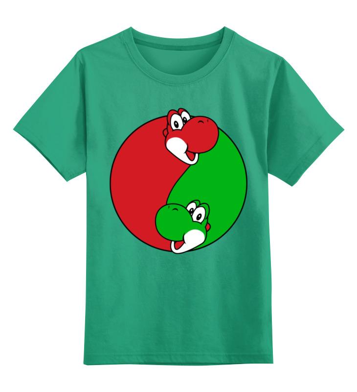 Детская футболка классическая унисекс Printio Йоши(марио)